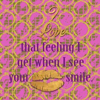 Love and Smile II Fine-Art Print