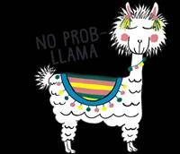No Prob-Llama Fine-Art Print
