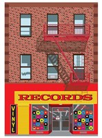 Vinyl Records Fine-Art Print