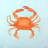 Orange Claw Buddies II Fine-Art Print