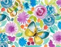 Tropical Butterfly Garden Fine-Art Print