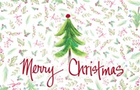 Merry Christmas Tree Fine-Art Print