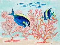 Coral Reef I Fine-Art Print