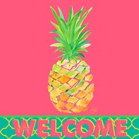 Punchy Pineapple Welcome Fine-Art Print