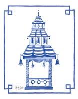 The Pagoda I Fine-Art Print