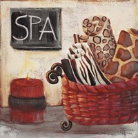 Red Jungle Spa I Fine-Art Print