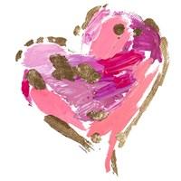 Heart Full of Love I Fine-Art Print
