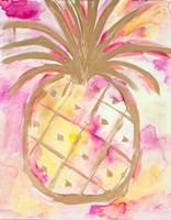 Pink Gold Pineapple Fine-Art Print