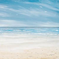 Misty Coastal Days I Fine-Art Print