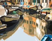 Burano Boats Fine-Art Print