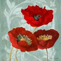 Rouge Pavots II Fine-Art Print