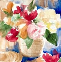 Bright Flower Basket Fine-Art Print