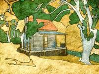 Forest Cabin Fine-Art Print