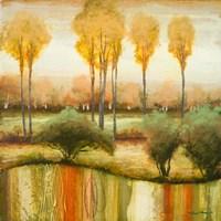Early Morning Meadow II Fine-Art Print