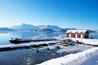 Fishing Dock on the Fjord Fine-Art Print