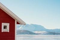 Winter Cabin Fine-Art Print
