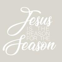 Jesus is the Reason for the Season Fine-Art Print