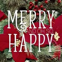 Merry and Happy Fine-Art Print