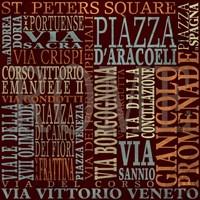Streets of Rome Fine-Art Print
