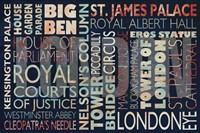 London places Fine-Art Print