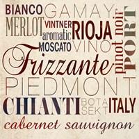 Wine Words I Fine-Art Print