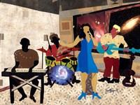 Jazz at City View Fine-Art Print