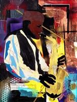 Saxophonist Fine-Art Print