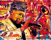 Saxophone Man Fine-Art Print