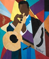 Trumpet Jazz Dynamic Fine-Art Print