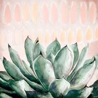 Modern Green Agave Fine-Art Print
