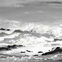 Rocks and Waves Fine-Art Print
