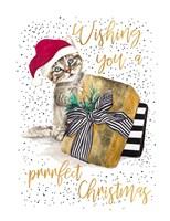 Wishing You A Prrrfect Christmas Fine-Art Print