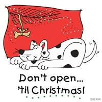 Don't Open til Christmas I Fine-Art Print