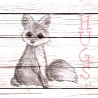 Fox Hugs Fine-Art Print
