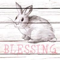 Rabbit Blessing Fine-Art Print