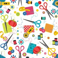 Sew Excited Nifty Notions Fine-Art Print