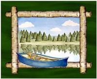 Framed Lake View III Fine-Art Print