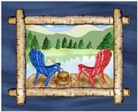 Framed Lake View IV Fine-Art Print