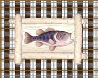 Framed Lake Fish I Fine-Art Print