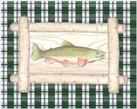 Framed Lake Fish II Fine-Art Print