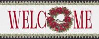 Chickadee Christmas Red - Welcome Fine-Art Print