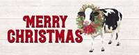 Christmas on the Farm - Merry Christmas Fine-Art Print