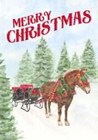 Sleigh Bells Ring - Merry Christmas Fine-Art Print