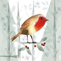 Christmas Hinterland III Robin Fine-Art Print