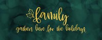 All that Glitters panel I-Family Gathers Fine-Art Print