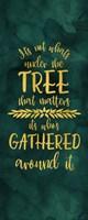 All that Glitters panel IV-Under the Tree Fine-Art Print