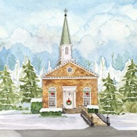 Christmas Village I Fine-Art Print