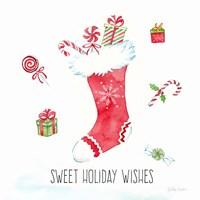 Vintage Holiday Cheer I Fine-Art Print