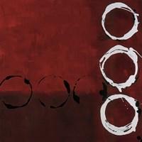 Red Circles II Fine-Art Print