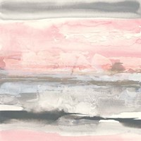Charcoal and Blush II Fine-Art Print